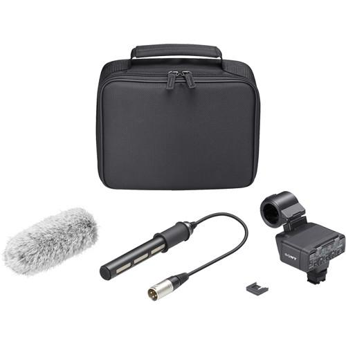 Sony XLR-K2M XLR Adapter Kit with Microphone XLR-K2M