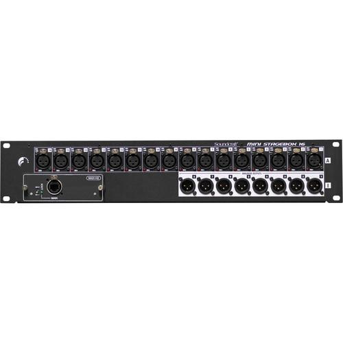 Soundcraft Mini Stagebox 16 for Soundcraft Mixer Consoles