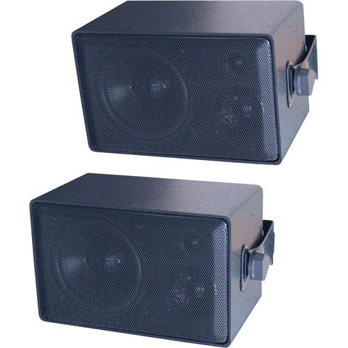 Speco Technologies DMS3P 3-Way All Weather Mini Speakers DMS-3P
