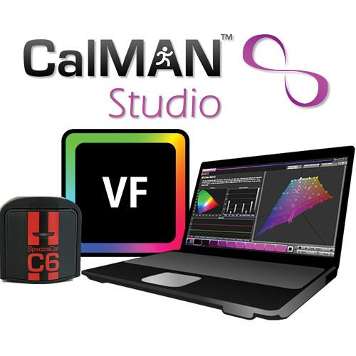 SpectraCal CalMAN Studio with VirtualForge and C6 SC-ASMNAB