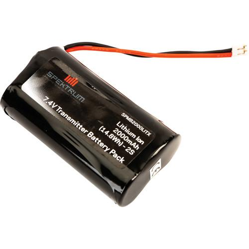 Spektrum 2000mAh Lithium Transmitter Battery SPMB2000LITX