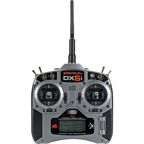 Spektrum DX6i 6-Channel DSMX Transmitter (TX) for RC SPMR6630
