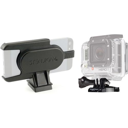 Steadicam GoPro HERO and iPhone 5/5s Mounts for Smoothee