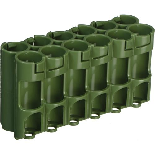 STORACELL 12 AA Pack Battery Caddy (Military Green) 12AAMG
