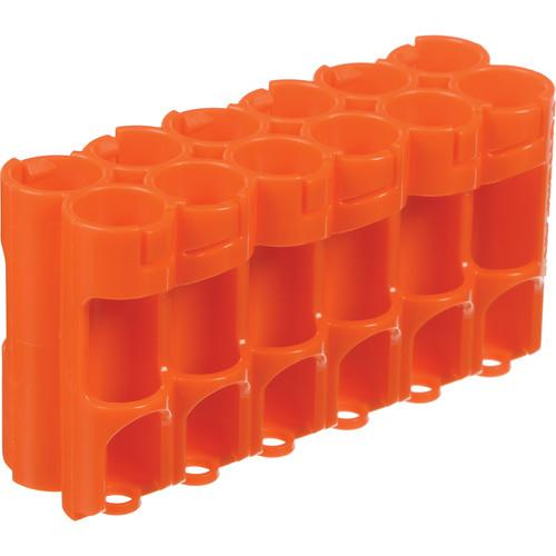 STORACELL 12 AA Pack Battery Caddy (Orange) 12AAORG