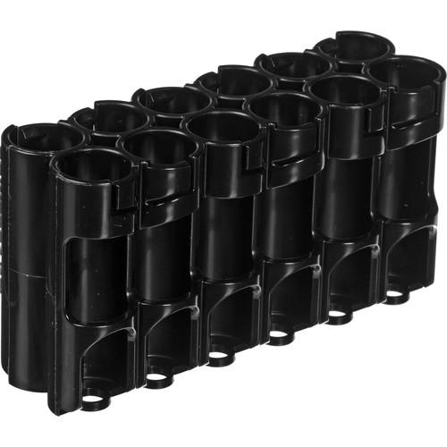 STORACELL 12 AA Pack Battery Caddy (Tuxedo Black) 12AATB