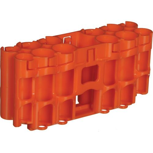 STORACELL  A9 Pack Battery Caddy (Orange) A9ORG