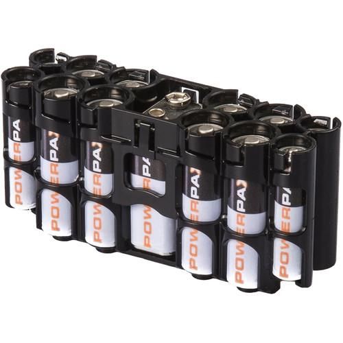 STORACELL A9 Pack Battery Caddy (Tuxedo Black) A9TB