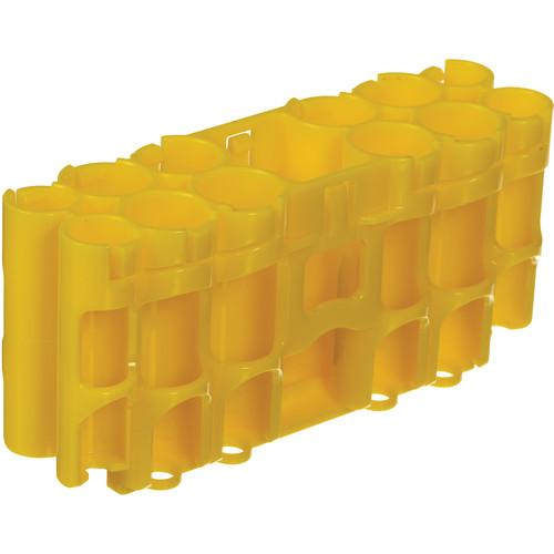 STORACELL  A9 Pack Battery Caddy (Yellow) A9CY