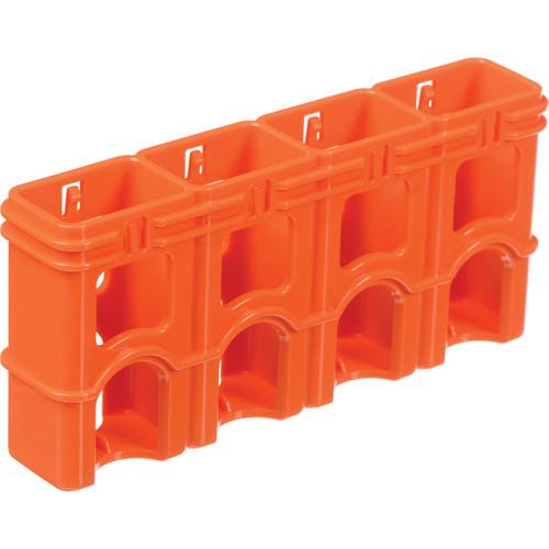 STORACELL SlimLine 9V Battery Holder (Orange) SL9VORG