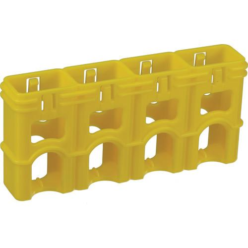 STORACELL SlimLine 9V Battery Holder (Yellow) SL9VCY
