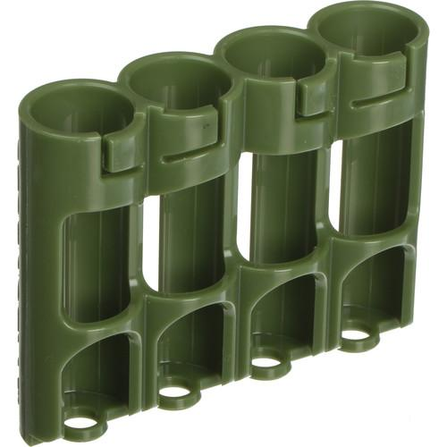 STORACELL SlimLine AA Battery Holder (Military Green) SLAAMG