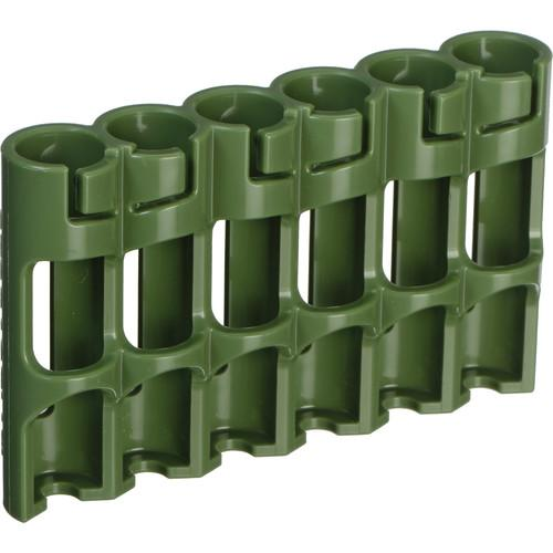 STORACELL SlimLine AAA Battery Holder (Military Green) SLAAAMG