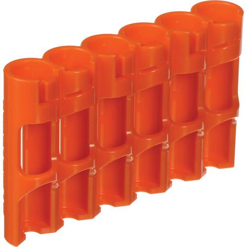 STORACELL SlimLine AAA Battery Holder (Orange) SLAAAORG