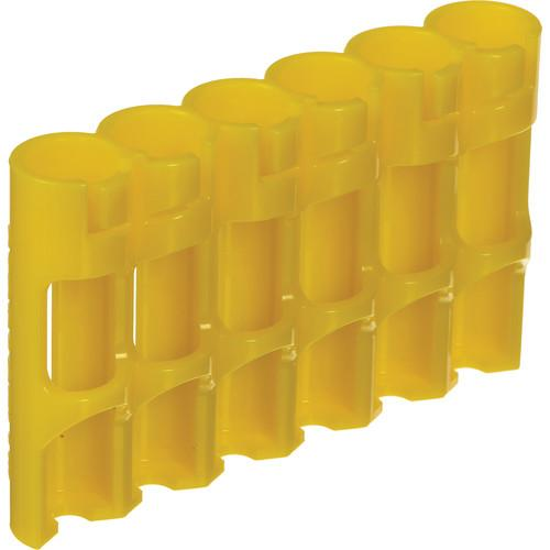 STORACELL SlimLine AAA Battery Holder (Yellow) SLAAACY