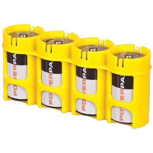 STORACELL SlimLine C4 Battery Holder (Yellow) SLC4CY