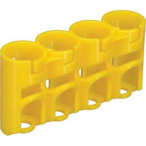 STORACELL SlimLine CR123 Battery Holder (Yellow) SLCR123CY