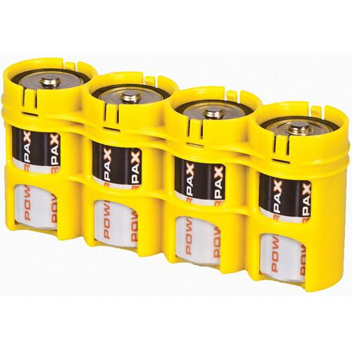 STORACELL SlimLine D4 Battery Holder (Yellow) SLD4CY