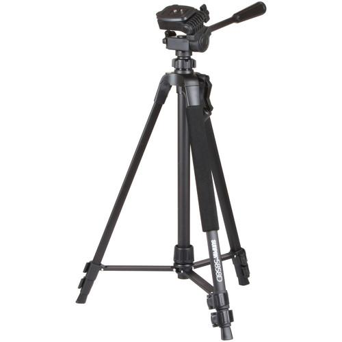 Sunpak 5858D Aluminum Tripod with 3-Way Pan/Tilt Head 620-585