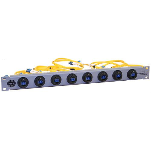 Tactical Fiber Systems 8 Port BullsEye Patch Panel 2BEPATPAN8LC