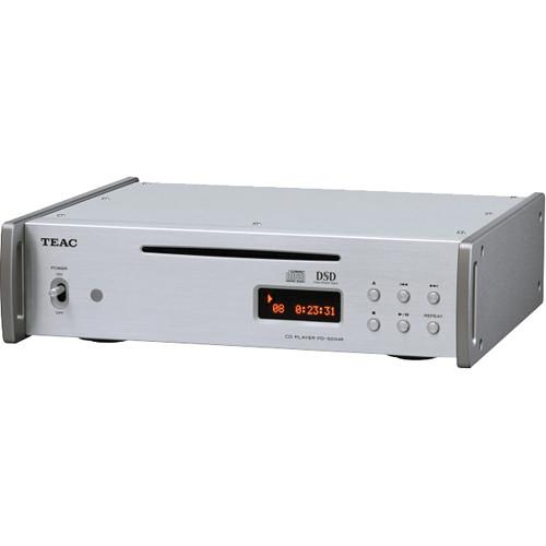 Teac CD Player with 5.6MHz DSD Playback (Silver) PD-501HR-S