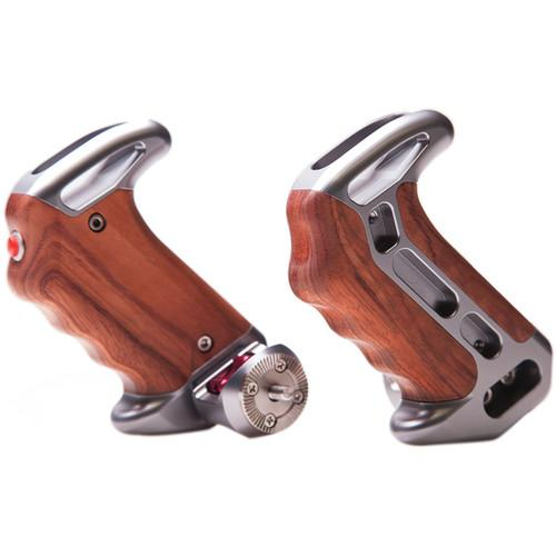 Tilta Wooden Handles with ARRI Rosettes and Two TT-0507-2