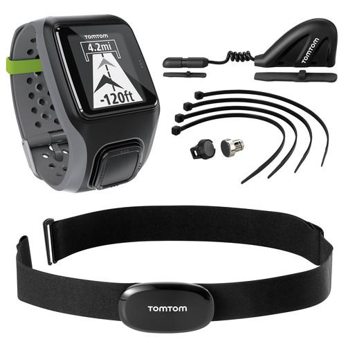TomTom Multi-Sport GPS Sports Watch with HRM and 1RS0.001.02