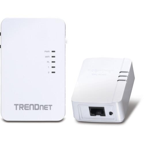 TRENDnet 10/100 Mbps Powerline 500 Wireless Kit TPL-410APK
