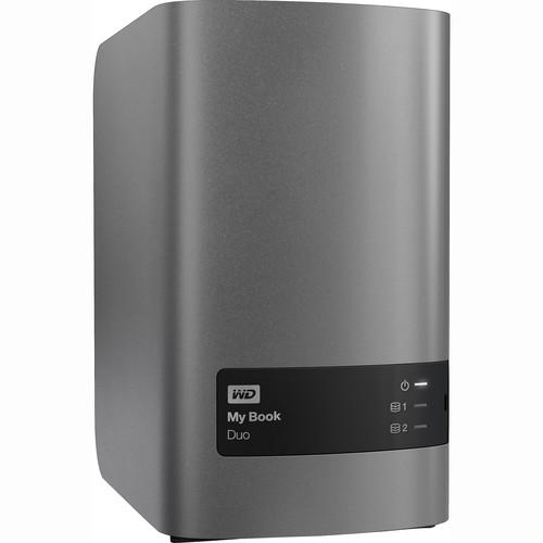WD My Book Duo 4TB (2 x 2TB) Two-Bay USB 3.0 WDBLWE0040JCH-NESN