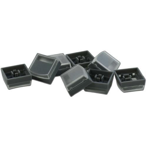 X-keys Keycaps for XK-16 Stick (Gray, Pack of 8) XK0