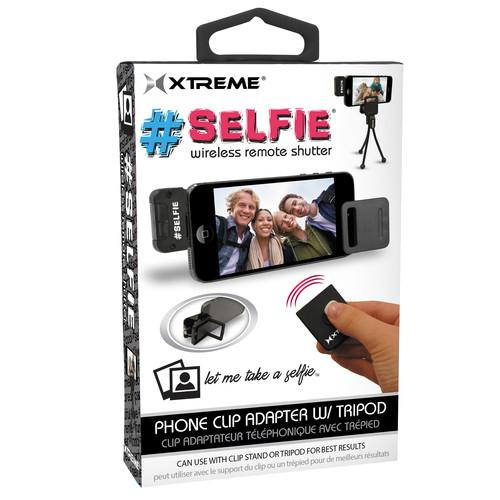 Xtreme Cables Selfie Wireless Remote Shutter (Black) 51963