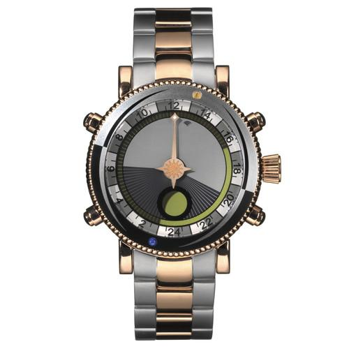 Yes Watch W307.4 WorldWatch II Solunar Bezel W307.4