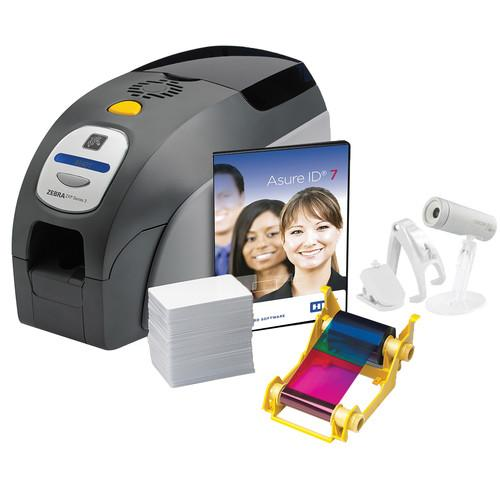 Zebra ZXP Series 3 Single-Sided Card Printer System ZXP3SYSTEMSS