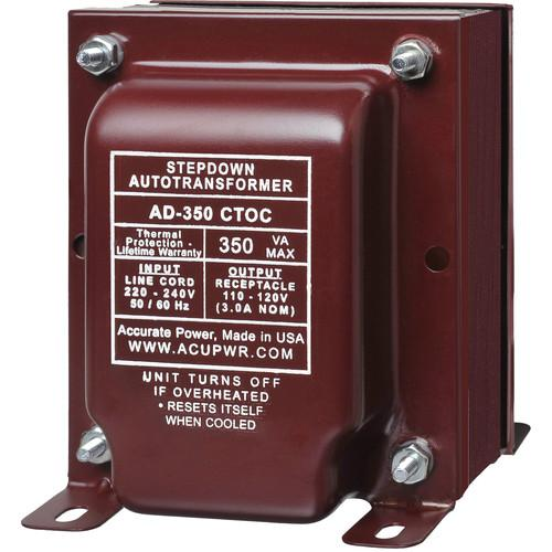 ACUPWR AcuPwr AD-350 CTOC High End Step Down Transformer AD-350