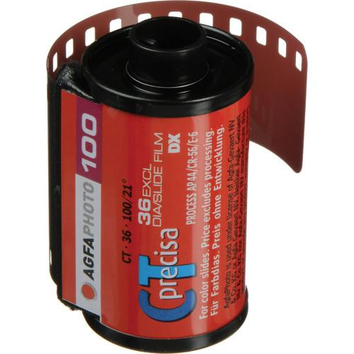 AgfaPhoto CTprecisa 100 Color Transparency Film AP6C1360