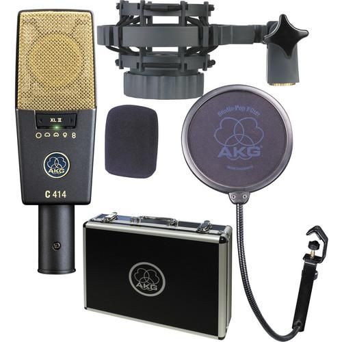 AKG C 414 XL II and Apollo Twin DUO Recording Kit