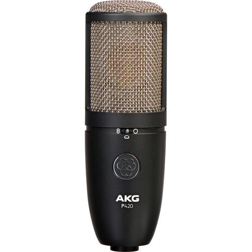 AKG Project Studio P420 Multi-Pattern Large Diaphragm 3101H00430