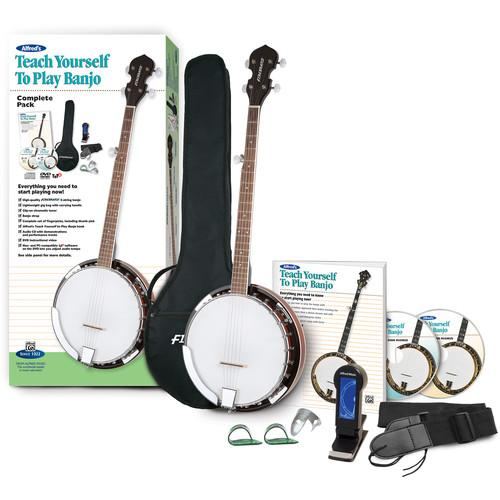 ALFRED Teach Yourself To Play Banjo Starter Pack - 00-42836