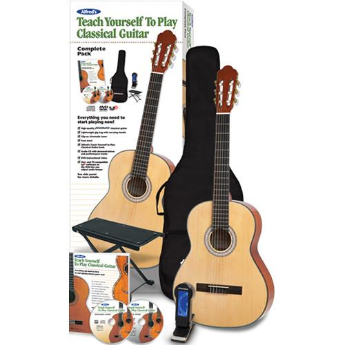 ALFRED Teach Yourself To Play Classical Guitar Starter 00-42834