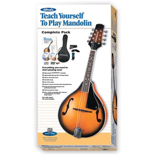 ALFRED Teach Yourself To Play Mandolin Starter Pack - 00-42870