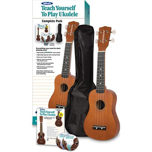 ALFRED Teach Yourself To Play Ukulele Starter Pack - 00-37379