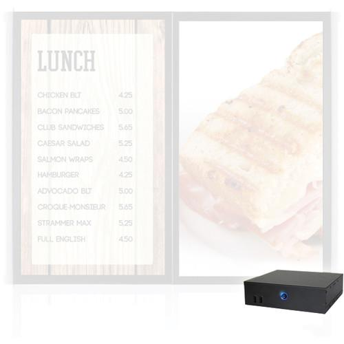 AOPEN nTAKE Value V201 Digital Signage Menu Board 791.ADE71.7AJ0