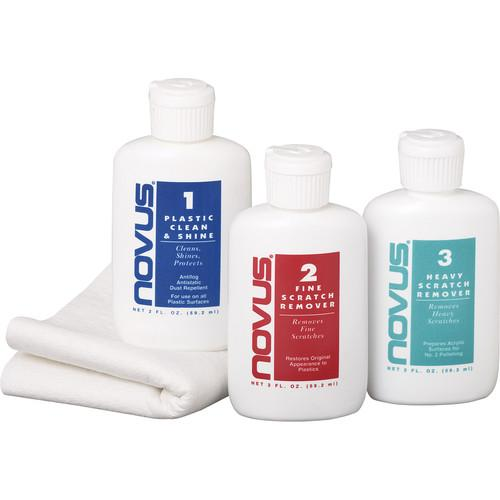 AquaTech NOVUS Cleaning and Scratch Remover Kit 12310