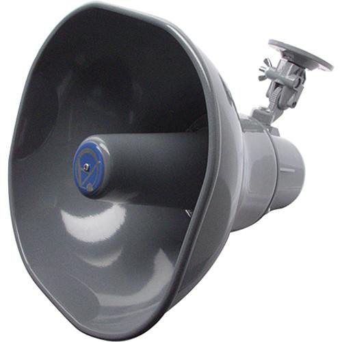 Atlas Sound AP-30 8Ω 30W Horn Loudspeaker (Gray) AP-30