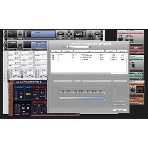Audiffex inTone-1 Keys Pro Plug-In Software 10-12048
