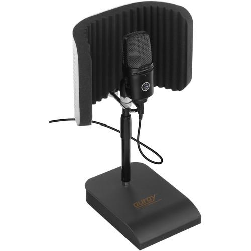 Auray RFDT-128 Desktop Reflection Filter and Mic Stand RFDT-128