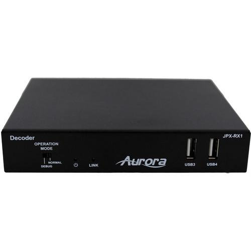 Aurora Multimedia JPX Series JPX-RX1 HDMI over IP JPX-RX1