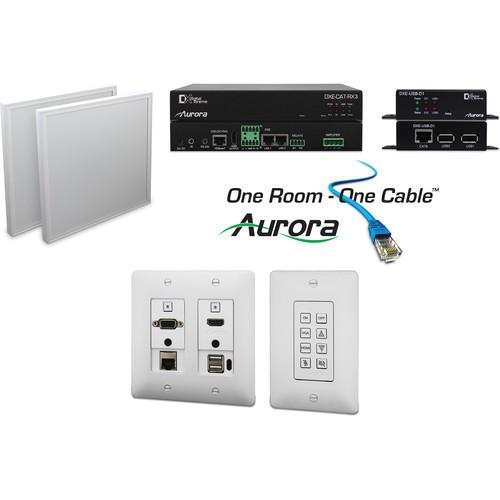Aurora Multimedia One Room-One Cable Kit with Ethernet ORC-3-B