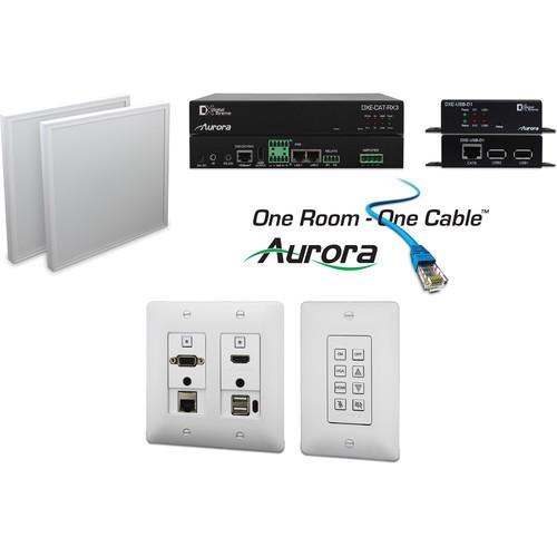 Aurora Multimedia One Room-One Cable Kit with Ethernet ORC-3-W