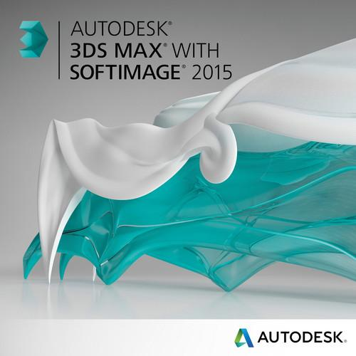 Autodesk Autodesk 3ds Max with Softimage 2015 978G1-WWR111-1001